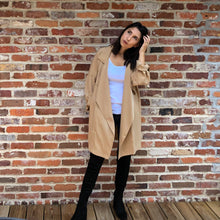 Load image into Gallery viewer, Meadow- Tencel Trench Coat in Taupe