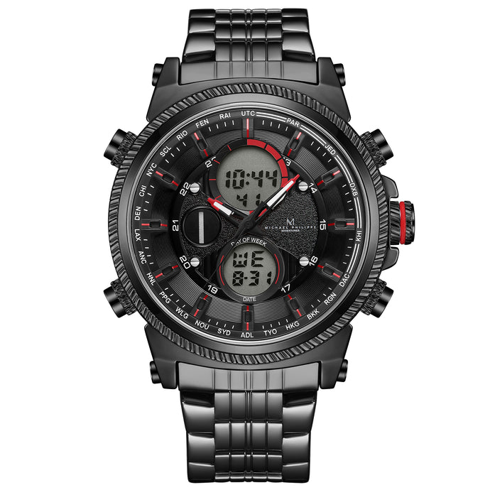 Adventurer | 48mm <small><br>Engineer Steel Link<br>Volcanic Black</b></small><center>