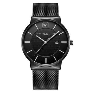 Jetsetter | 40mm <small> <br>Milanese Mesh<br> Star Silver</br> </small> <center>