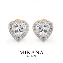 Load image into Gallery viewer, Mikana 18k Gold Plated Natsumi Stud Earrings Accessories For Women