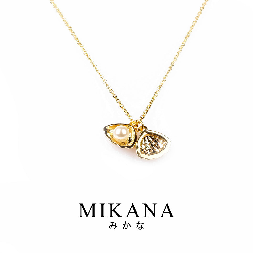 Mikana 18k Gold Plated Hinata Pendant Necklace accessories for women