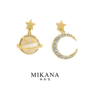 Mikana 18k Gold Plated Morning Star Jewelry Set Accessories For Women