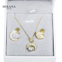 Load image into Gallery viewer, Mikana 18k Gold Plated Morning Star Jewelry Set Accessories For Women