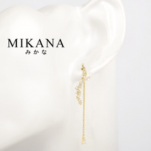 Load image into Gallery viewer, Mikana Hallyu K-drama 18k Gold Plated Legend Of The Blue Sea SeHwa Dangling Earrings Accessories For Women