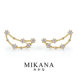 Mikana Constellation 18k Gold Plated Capricorn Jewelry Set Accessories For Women