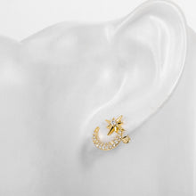 Load image into Gallery viewer, Mikana 18k Gold Plated Shouko Stud Earrings accessories for women