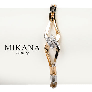 Mikana 18k Gold Plated Ayami Link Bracelet Accessories for Women