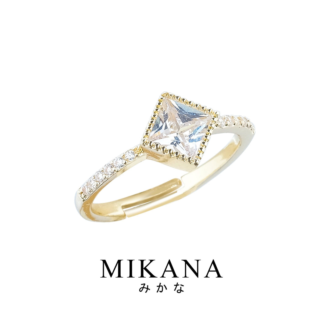 Mikana 18k Gold Plated Moriya Ring Accessories For Women