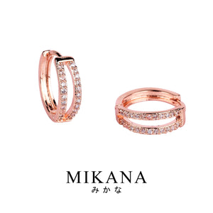 Mikana 18k Rose Gold Plated Circlet Jewelry Set accessories for women