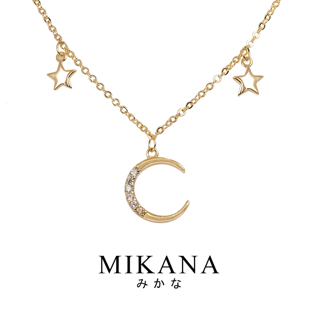 Mikana 18k Gold Plated Chihaya Pendant Necklace accessories for women