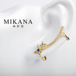 Mikana 18k Gold Plated Daitentai Stud Earrings accessories for women
