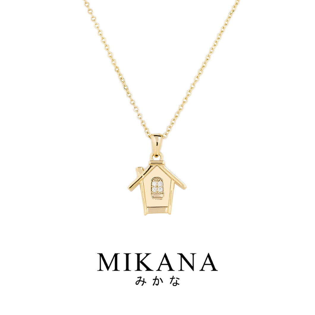 Mikana Start-Up 18k Gold Plated Dosane Pendant Necklace accessories for women