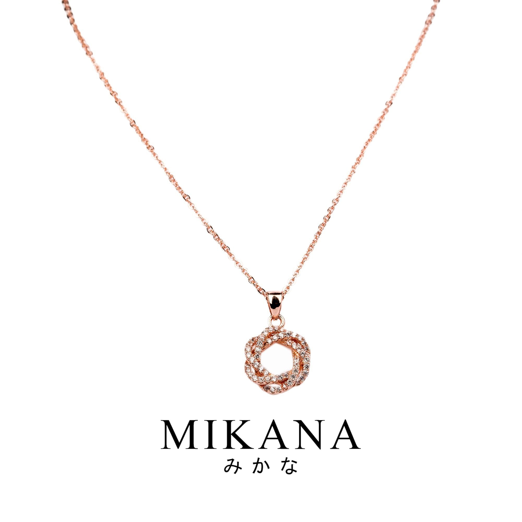 Mikana 18k Gold Plated Eirin Pendant Necklace accessories for women