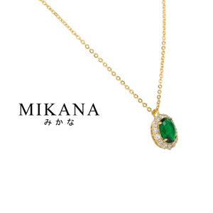 Mikana Royalty 18k Gold Plated Queen Elizabeth Pendant Necklace Accessories For Women