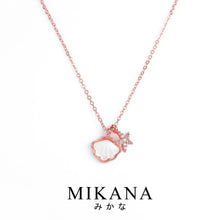Load image into Gallery viewer, Mikana 18k Rose Gold Plated Hoshikai Pendant Necklace accessories for women