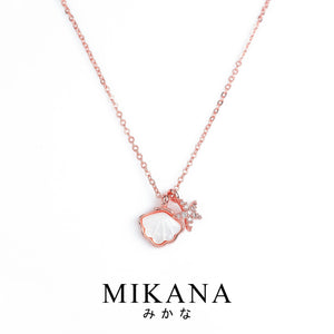 Mikana 18k Rose Gold Plated Hoshikai Pendant Necklace accessories for women
