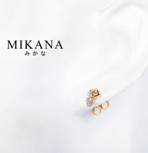 Load image into Gallery viewer, Mikana 18k Gold Plated Hachiro Drop Earrings accessories for women