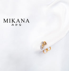 Mikana 18k Gold Plated Hachiro Drop Earrings accessories for women