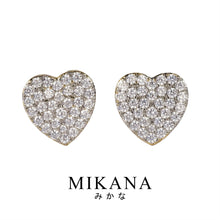 Load image into Gallery viewer, Mikana 18k Gold Plated Kaede Stud Earrings accessories for women