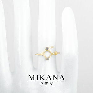 Mikana Constellation 18k Gold Plated Libra Jewelry Set Accessories For Women
