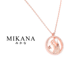 Mikana Zodiac Virgo Otomeza 18k Gold Plated Pendant Necklace accessories for women