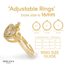 Load image into Gallery viewer, Mikana 14k White Gold Plated Mayumi Ring Accessories For Women