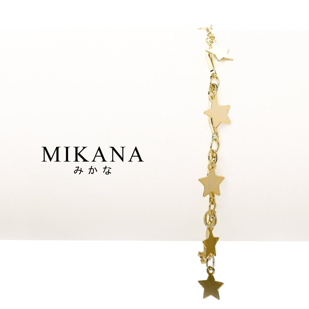 Mikana 18k Gold Plated Saeko Link Bracelet accessories for women