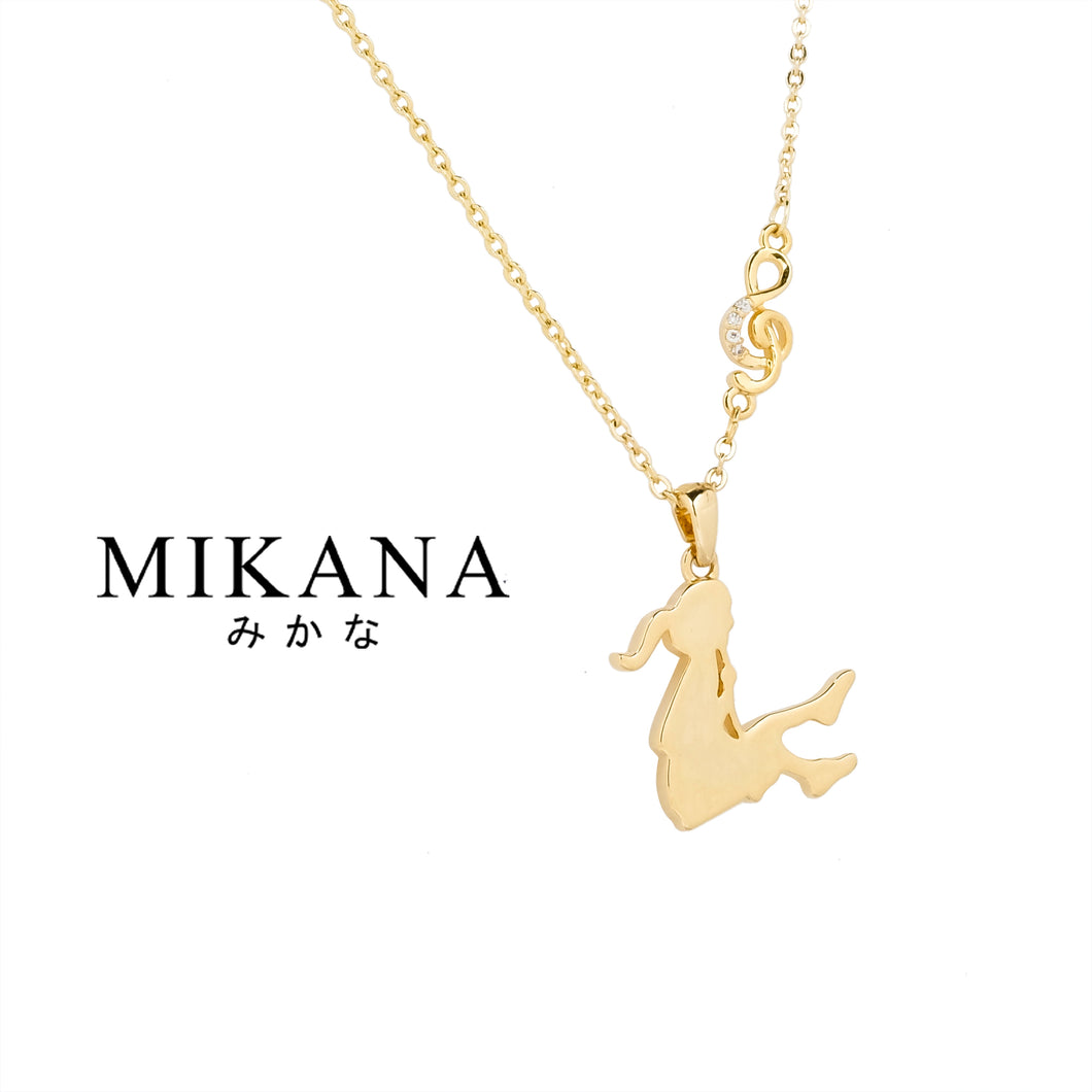 Mikana Start-Up 18k Gold Plated Sunako Pendant Necklace Accessories For Women startup start up