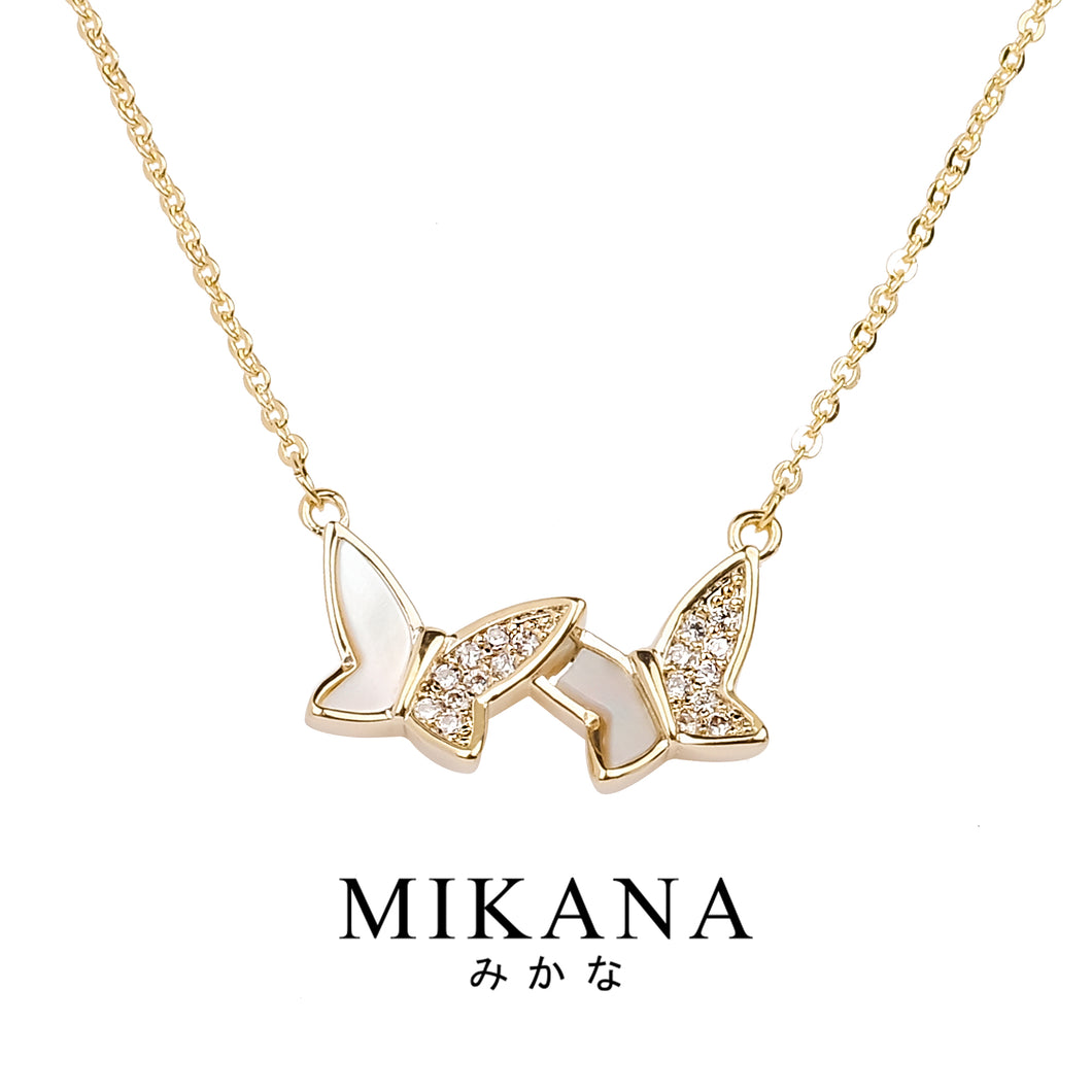 Mikana 18k Gold Plated Tokoyami Pendant Necklace accessories for women