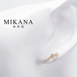 Mikana Constellation 18k Gold Plated Libra Temisu Stud Earrings Accessories For Women