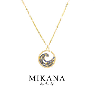 Mikana Avatar Waterbender 18k Gold Plated Reisui Pendant Necklace Accessories For Women