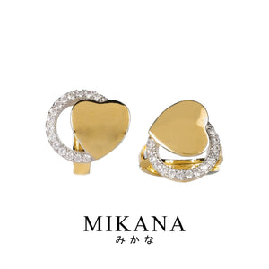 Mikana 18K Gold Plated Kayda Hoop Earrings Accessories For Women