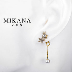 Mikana 18k Gold Plated Saayu Drop Earrings accessories for women