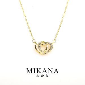 Mikana 18k Gold Plated Sweetheart Jewelry Set Accessories For Women
