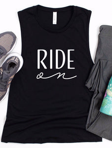 Ride On Muscle Tank