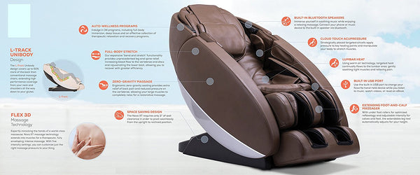 Human Touch Novo XT Ultra High Performance Zero-Gravity Massage Chairs
