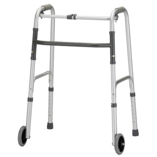 "Nova Medical Adult Folding Walker with 5"" Wheels 4070DW5"