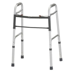 Nova Medical Adult 2 Button Folding Walker 4090