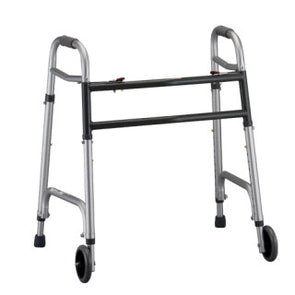 "Nova Medical Heavy Duty Bariatric Walker with 5"" Wheels 4095DW5"