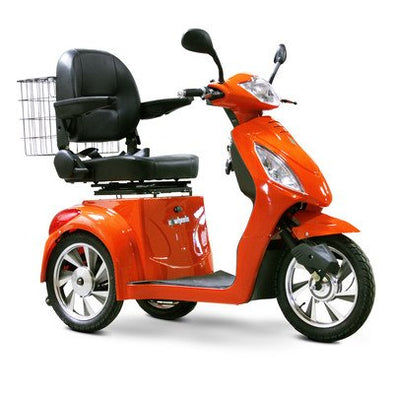 EWheels 3-Wheel Electric Mobility Scooter – Orange EW 36 O