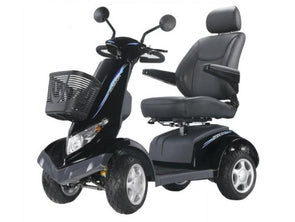 Heartway S8 Aviator 4 -Wheeled Power Scooter – Black SES8X