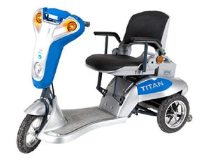 Tzora Titan 3 Folding Lightweight Scooter – 3 Wheel