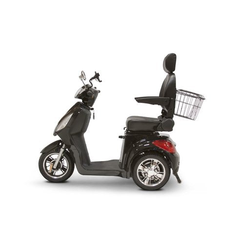 EWheels 3-Wheel Electric Mobility Scooter – Black EW 36 BLK