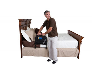 Stander Bed Rail Advantage Traveler - Portable Folding Travel Bed Rail & Assist Handle