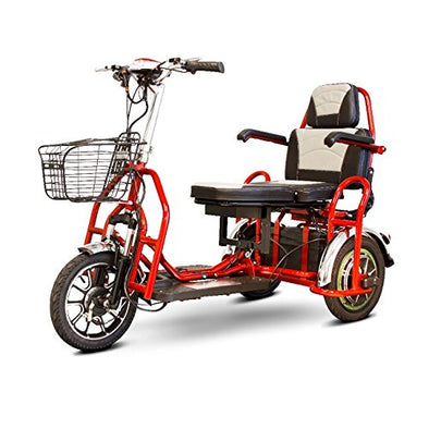 EWheels Folding Bariatric Electric 2 Person Scooter - Red EW 02 R