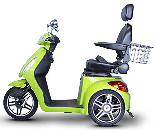 EWheels 3-Wheel Electric Mobility Scooter – Sour Apple Green EW 36 G