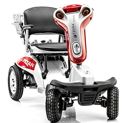 Tzora Titan 4 Hummer XL Folding 4-Wheel Electric Mobility Scooters