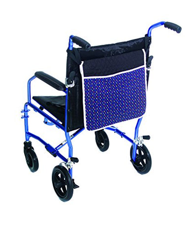 Essential Medical Supply Deluxe Quilted Pouches For Walkers and Wheelchairs