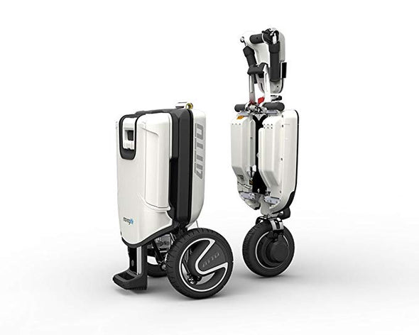 Moving Life ATTO Full-Size Folding Travel Scooter with Lithium Battery
