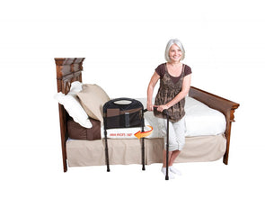 Stander Mobility Home Adult Bed Rail & Cushioned Support Bed Handle